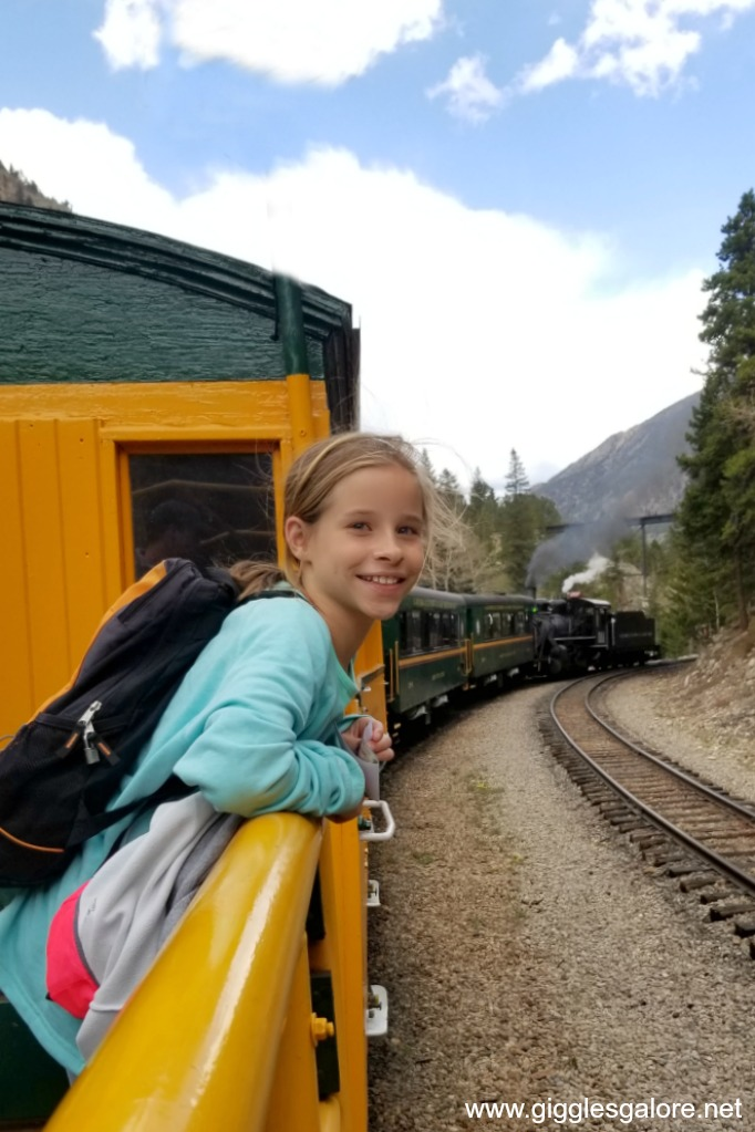 Georgetown loop train ride experience