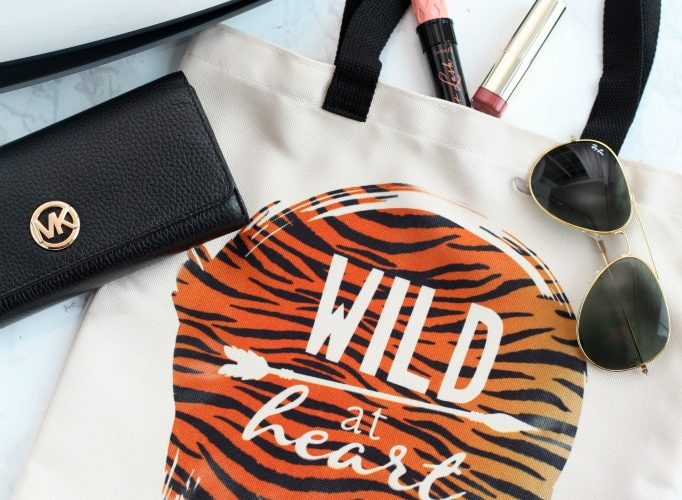 Wild at heart tote cricut infusible ink