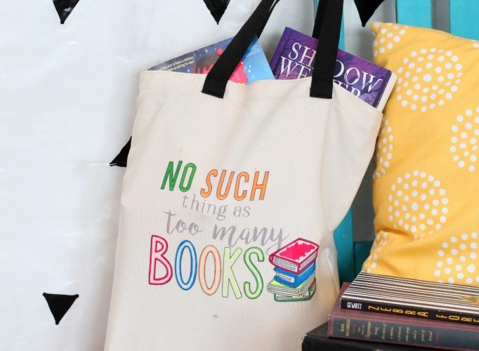 Back to school book bag with cricut infusible ink