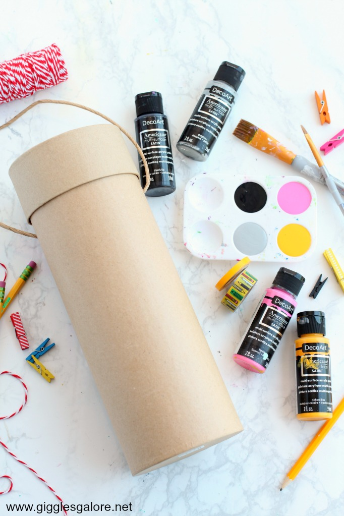 Back to school time capsule supplies