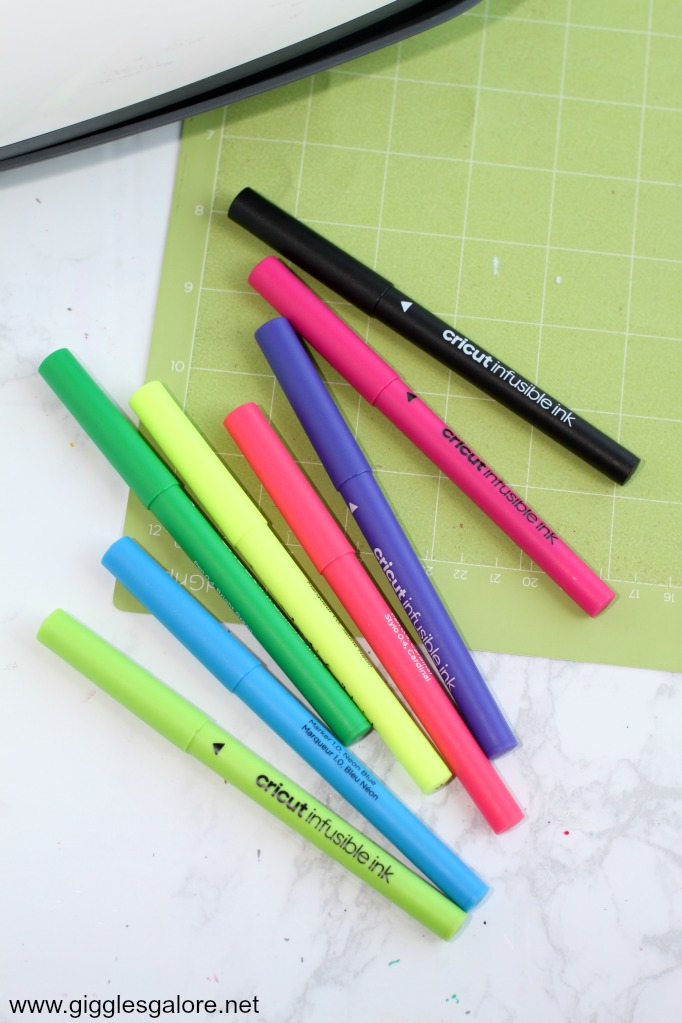 Cricut infusible ink pens