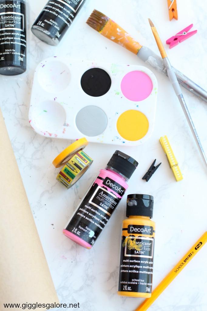 Decoart multi surface paint