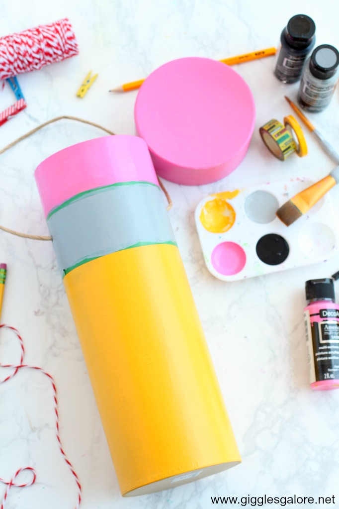 Diy back to school time capsule step 4