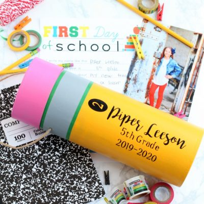 DIY Back to School Time Capsule