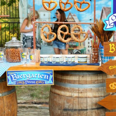 Backyard Biergarten Oktoberfest Party Ideas