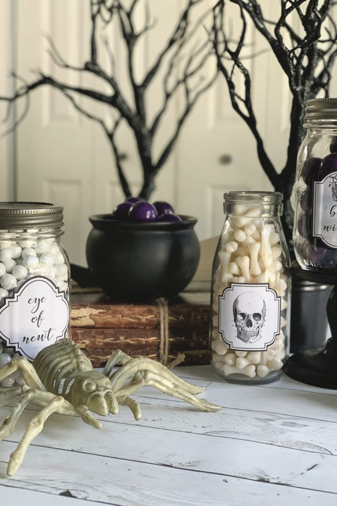 Printable Halloween Apothecary Labels