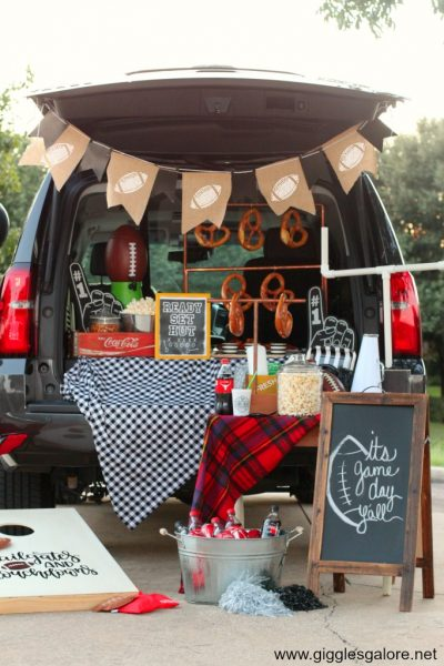 Fall tailgate party ideas