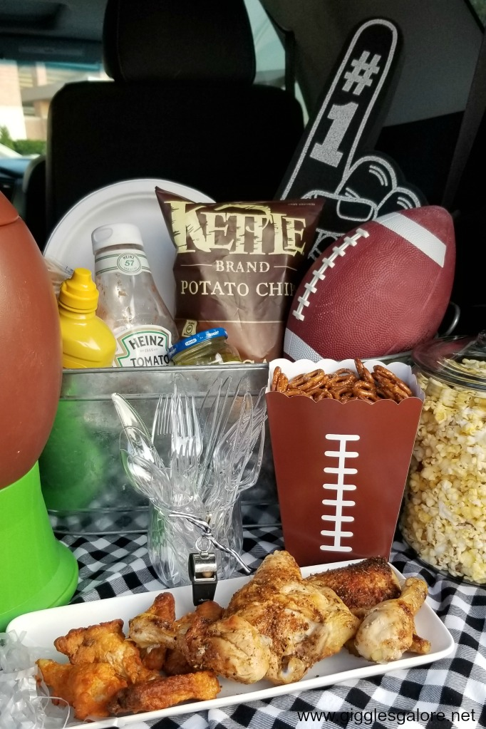 Game day tailgate food