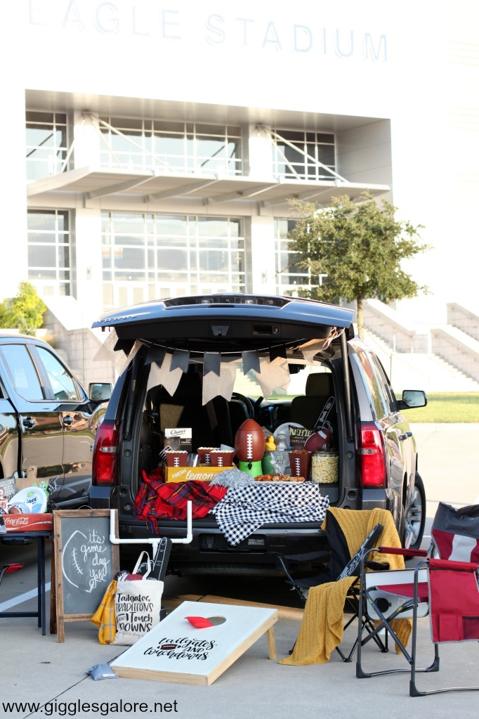 Game day tailgate tips