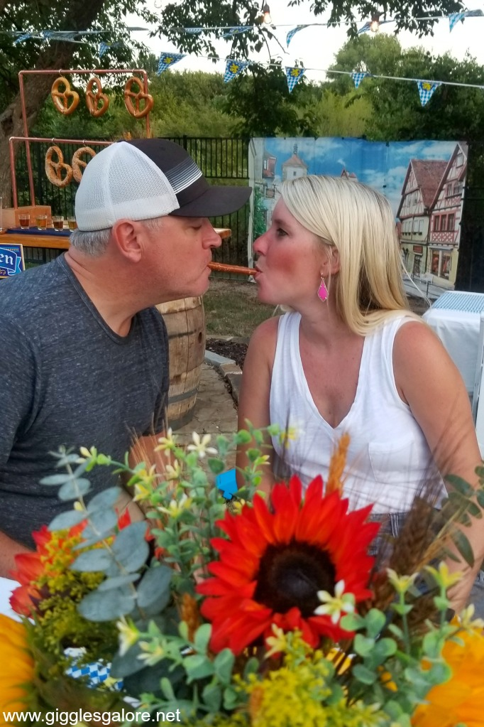 Octoberfest pretzel kiss