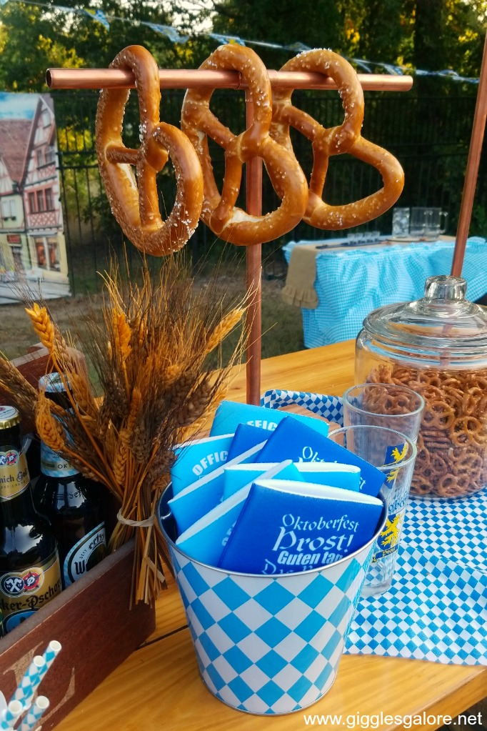 Oktoberfest pretzel bar ideas