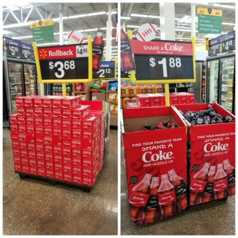 Share a coke display