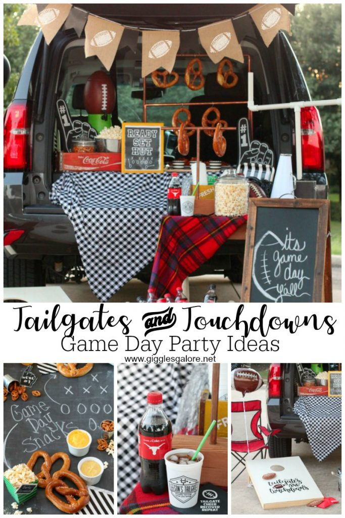 Tailgates and touchdowns game day party ideas gg