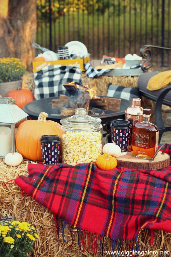 Backyard bonfire snacks