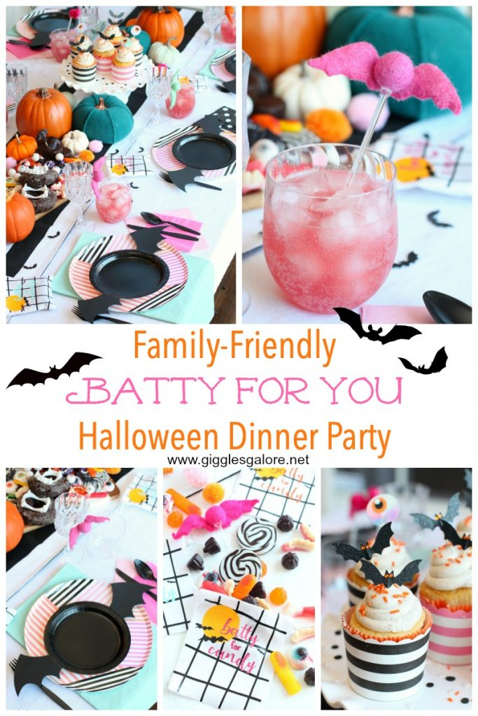 Batty for you halloween dinner party giggles galore