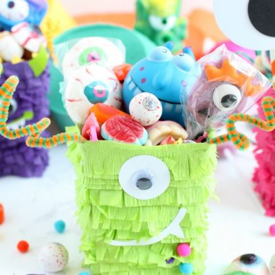 DIY Halloween Monster Favor Boxes