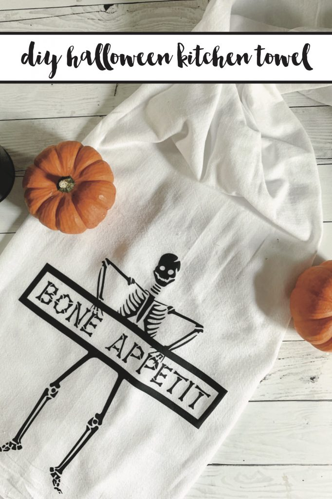 Diy halloween kitchen towel 8 copy