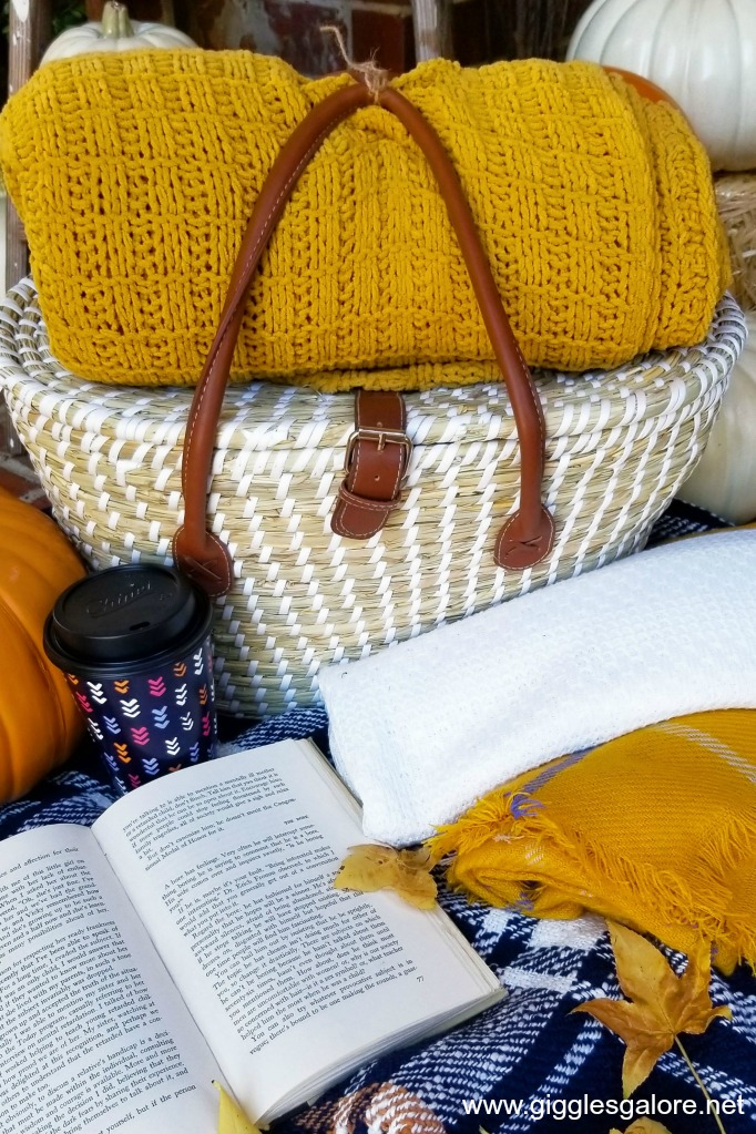 Fall picnic blankets