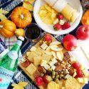Fall picnic spread