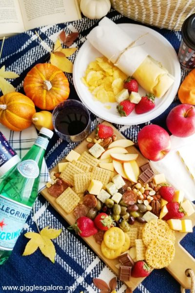 Fall picnic spread