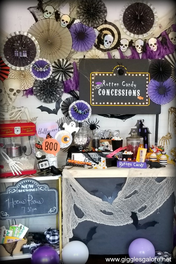 Frightfully fun halloween movie night party ideas