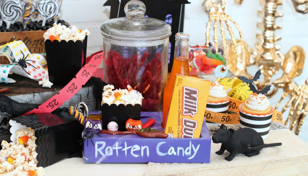 Halloween rotten candy concessions