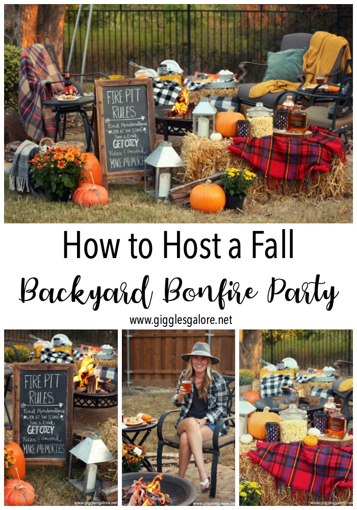 How to host a fall backyard bonfire party