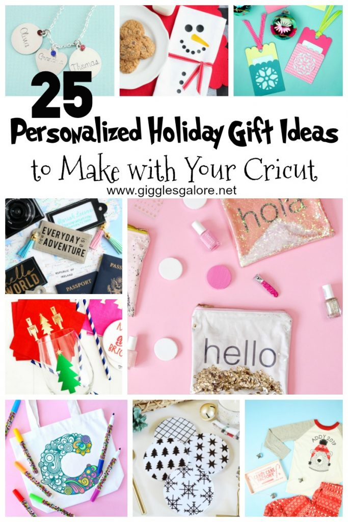 25 personalized holiday gift ideas to make with your cricut