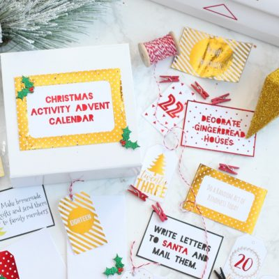 DIY Christmas Activity Advent Calendar
