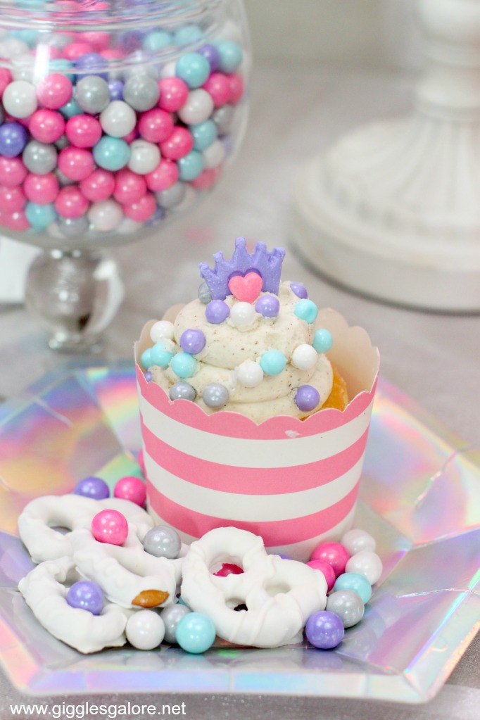 Color it candy princess cupcakes