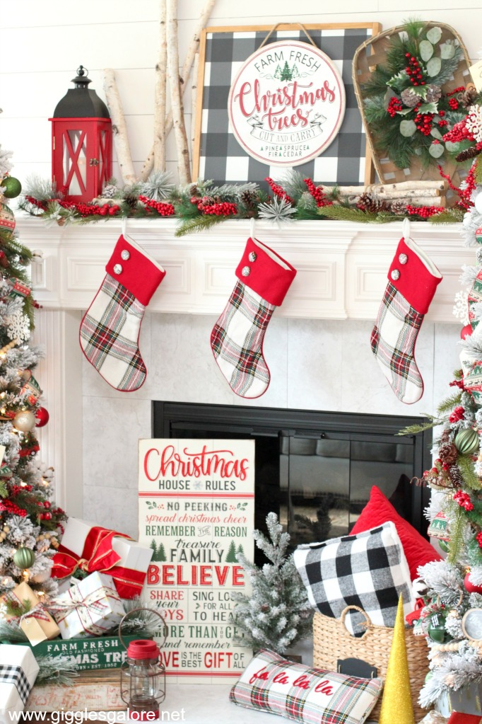 Cozy plaid christmas decorations michaels dream tree