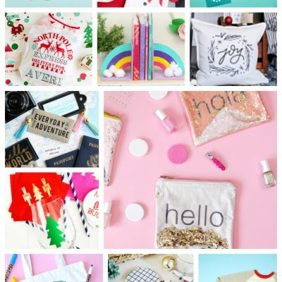 25 Personalized Holiday Gift Ideas to Make with Cricut