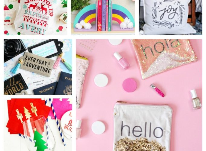Cricut gift ideas projects
