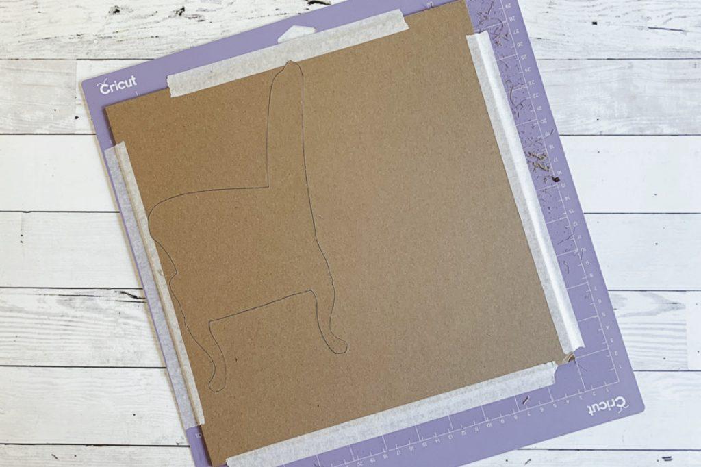Cricut strong grip cutting mat chipboard chair copy