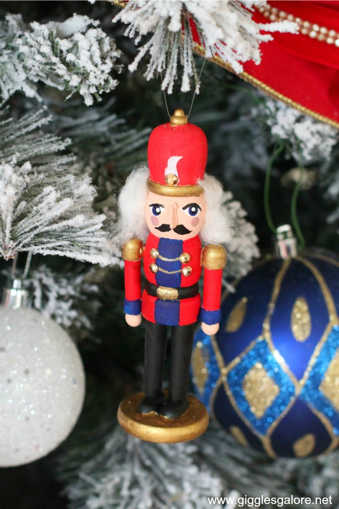 Diy hand painted nutcracker ornament gg