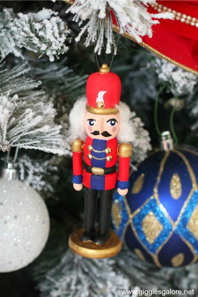 Diy hand painted nutcracker ornament gg