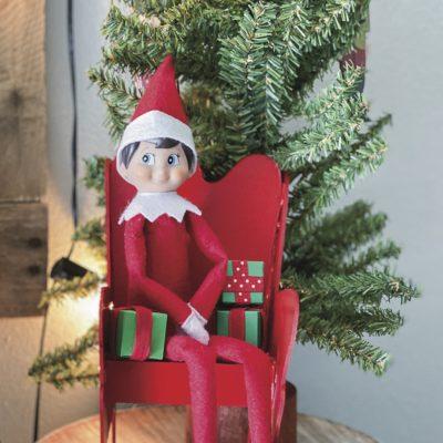 Free Elf on the Shelf Chair Cricut SVG