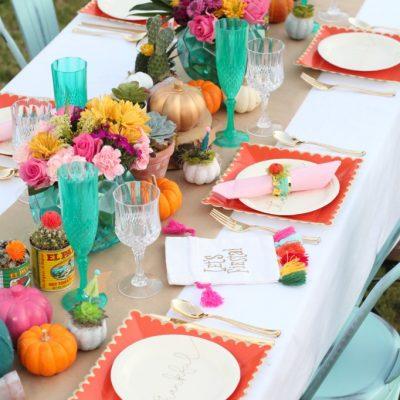 Friendsgiving fiesta party ideas