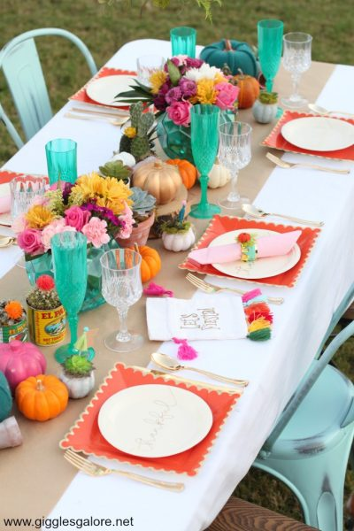 Friendsgiving fiesta party ideas