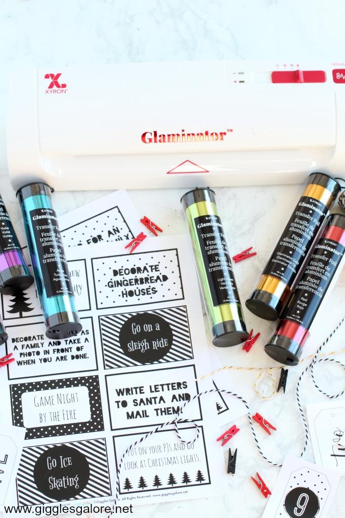 Glaminator advent calendar supplies