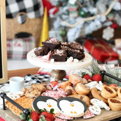 Holiday Dessert Charcuterie Board