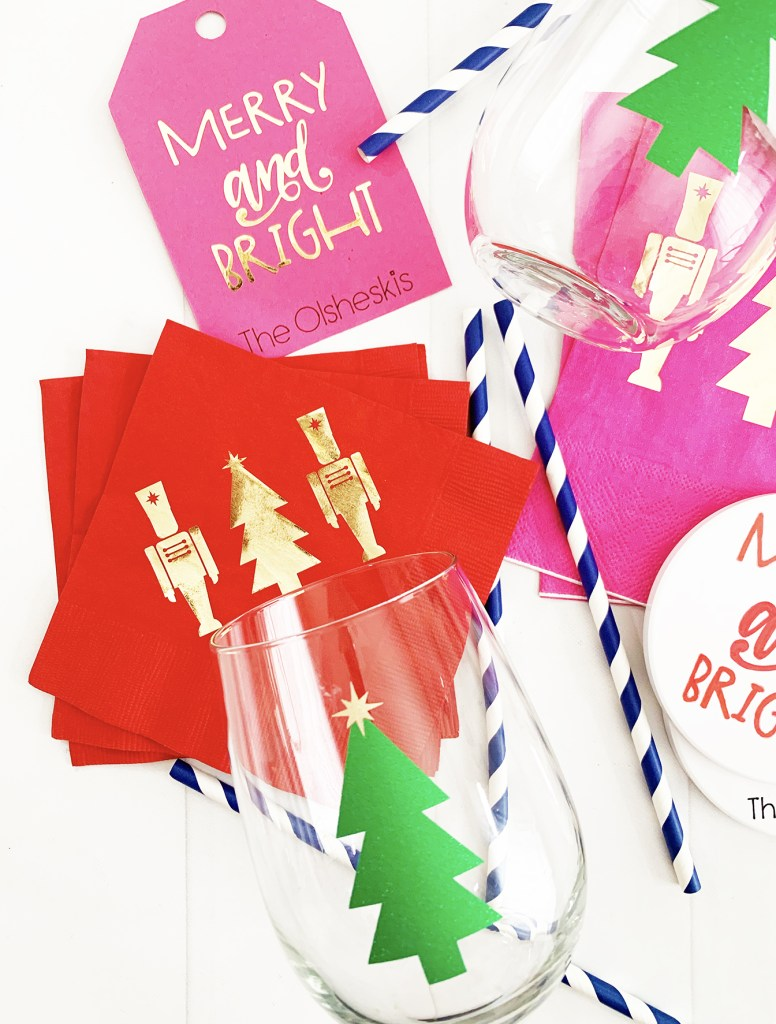 Personalized christmas hostess gift cricut