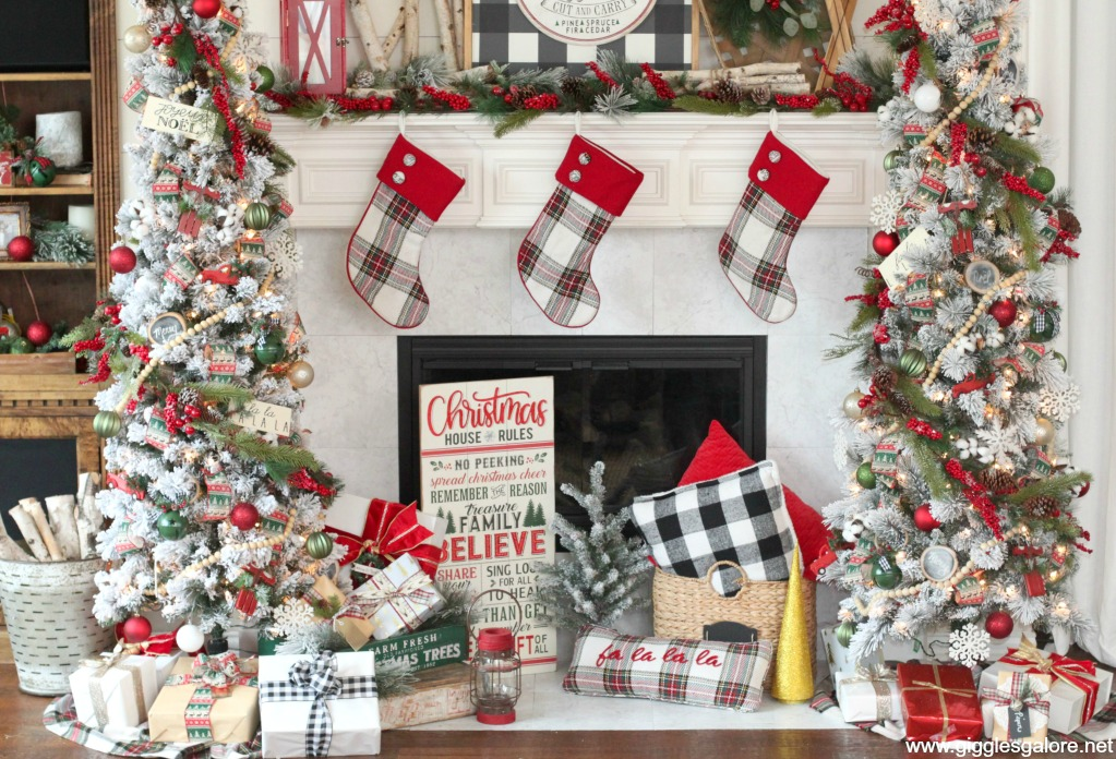 Rustic cozy fireside christmas decorations michaels dream tree