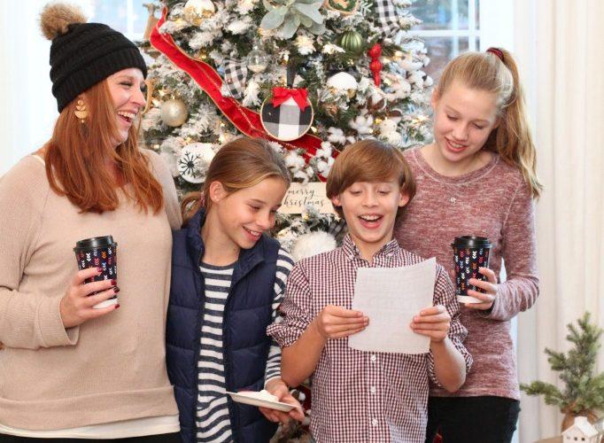 Christmas carol party ideas