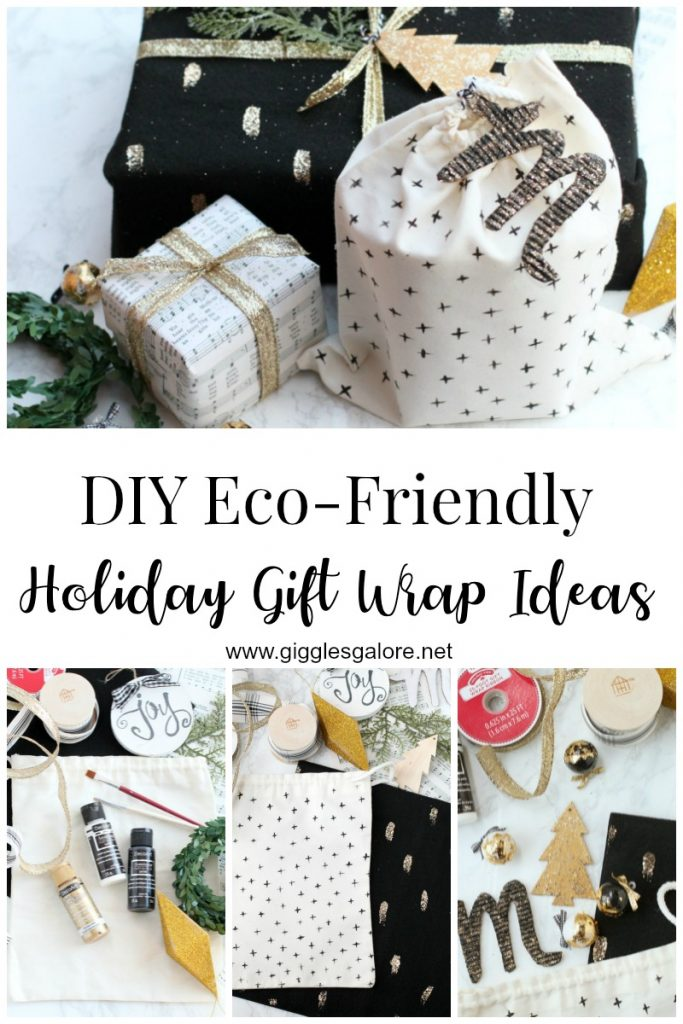 Diy eco friendly holiday gift wrap ideas