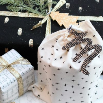 DIY Eco Friendly Holiday Gift Wrap