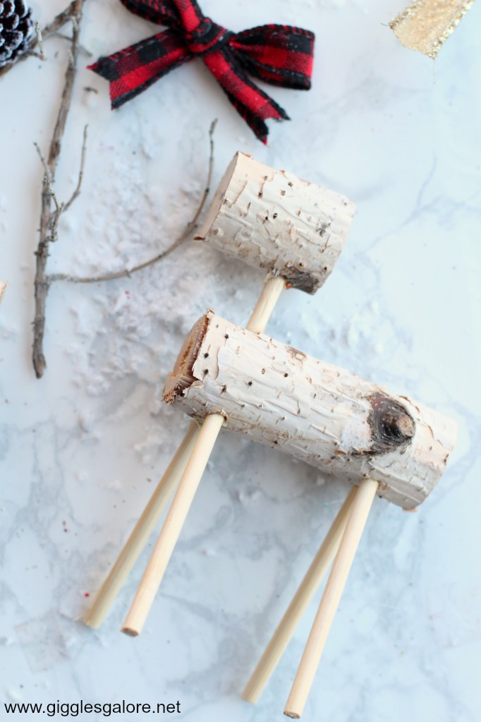 Diy wooden reindeer step 2
