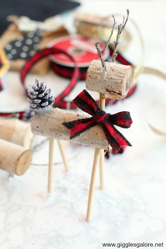 Diy wooden reindeer step 4