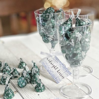 Midnight Kisses New Year's Eve Party Favor