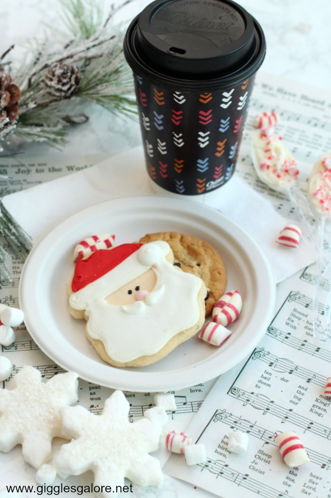 Hot cocoa and christmas party ideas